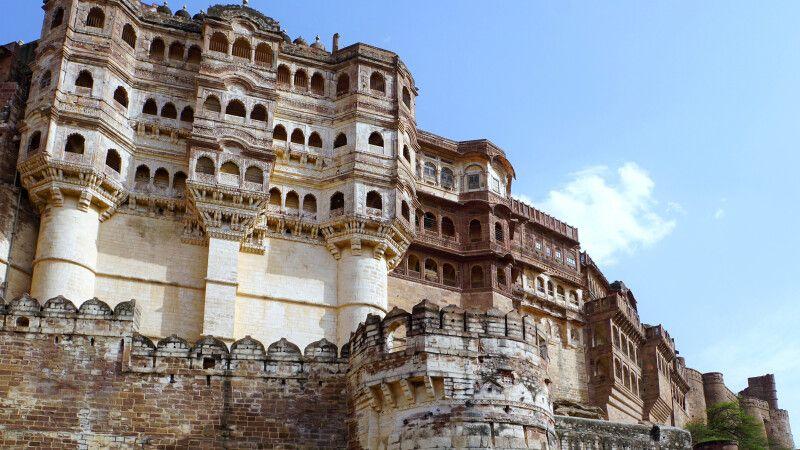 Jodhpur Meherangarh Fort © Diamir