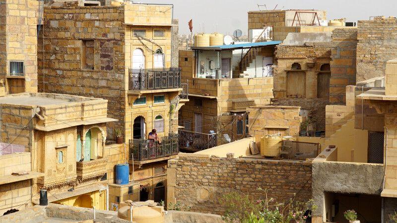 Jaisalmer Blick vom Fort © Diamir