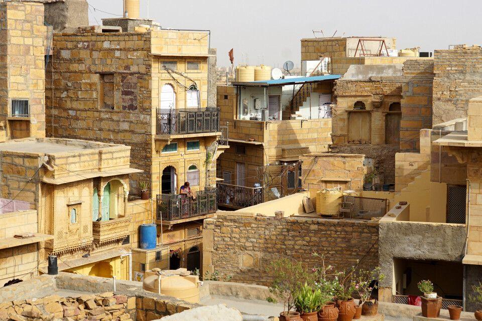 Blick von der Festung in Jaisalmer