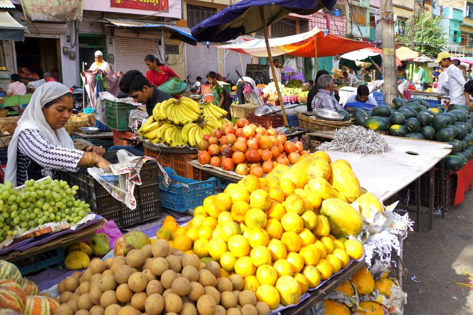 Marktbesuch in Udaipur