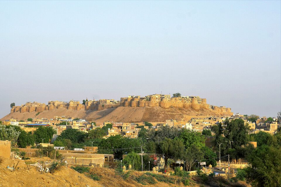 Jaisalmer Festungsanlage in der Wüstenoase