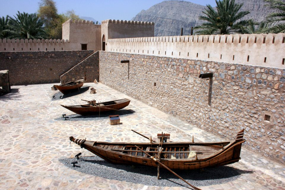 Fort in Khasab