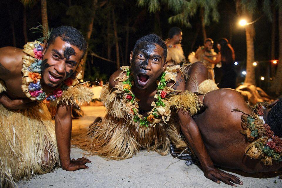 Meke-Tanz auf Fiji