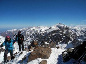 Geschafft! Der Gipfel des Akioud ist erreicht!