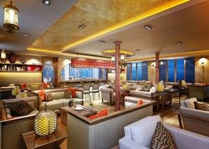 Lounge der Sanctuary Ananda