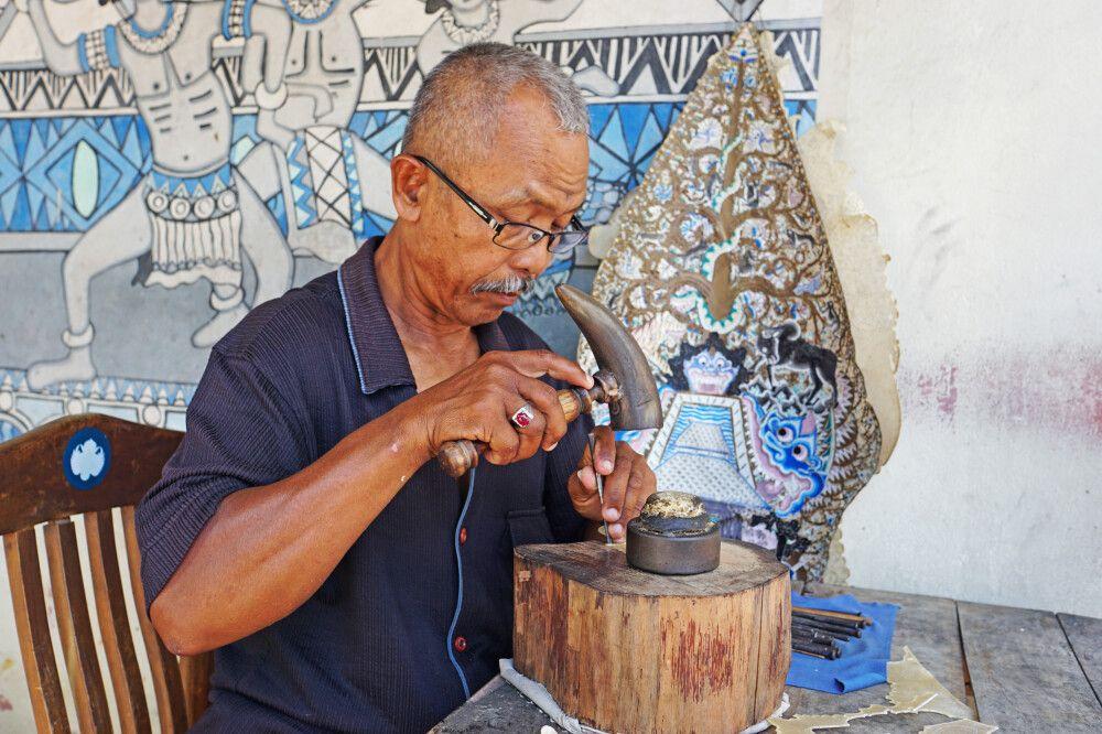 Indonesische Handwerkskunst