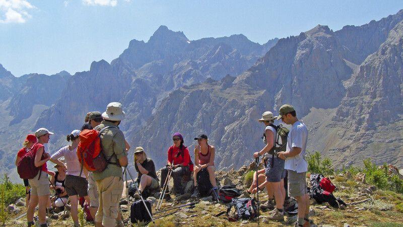 Pause während der Trekkingtour im Aladaglar © Diamir