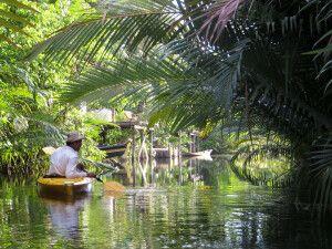 Kayakfahren bei Kampot
