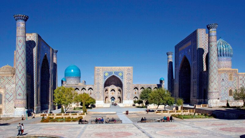 Registan von Samarkand © Diamir