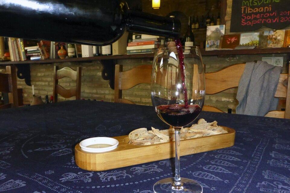 Verkostung Rotwein