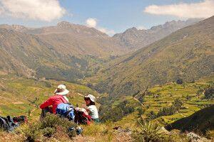 Unterwegs in der Cordillera Tunari