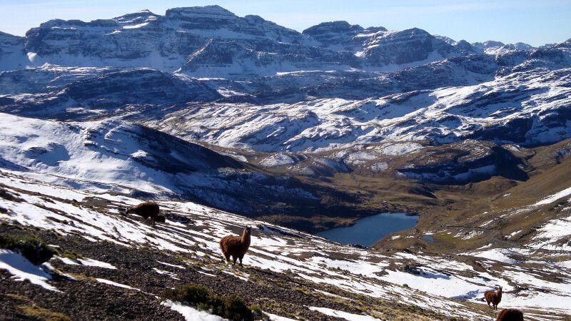 Herrliche Landschaft in der Cordillera Tunari © Diamir