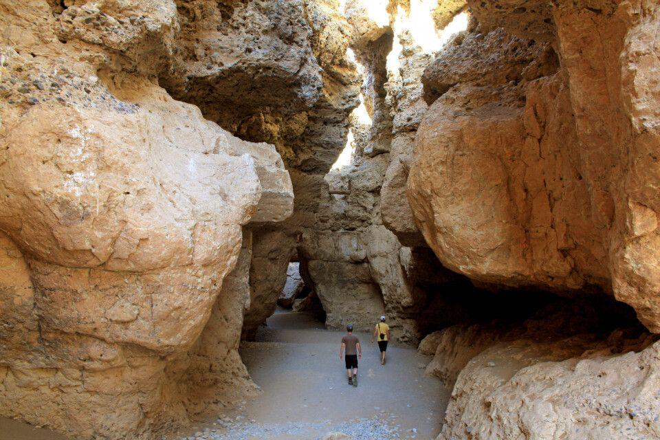 Wandern im Sesriem-Canyon