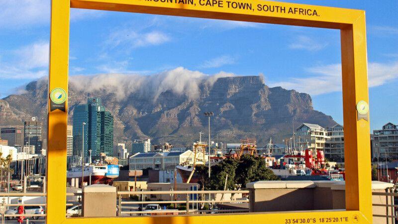 Der Tafelberg in bestem Fotolicht © Diamir