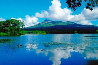 traumhafte Landschaft auf Hokkaido