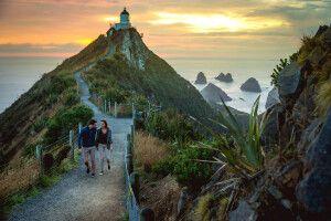 The Catlins Küste, Otago, Neuseeland