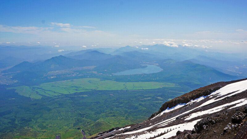 Blick vom Fuji-san © Diamir