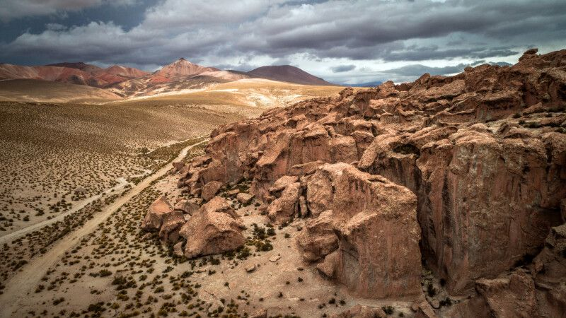 Unterwegs im chilenischen Altiplano © Diamir