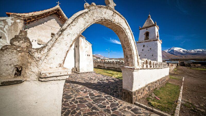 Kirche im kleinen Dorf Colchane © Diamir
