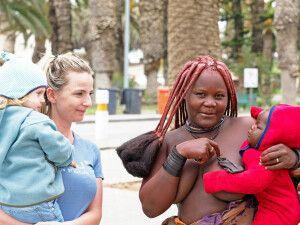 Himbamama in Swakopmund