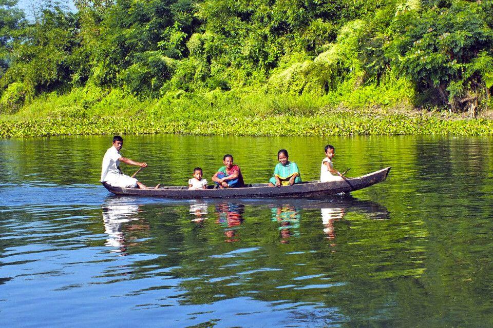 Familie Bootstour zwischen Rangamati und Bandarban