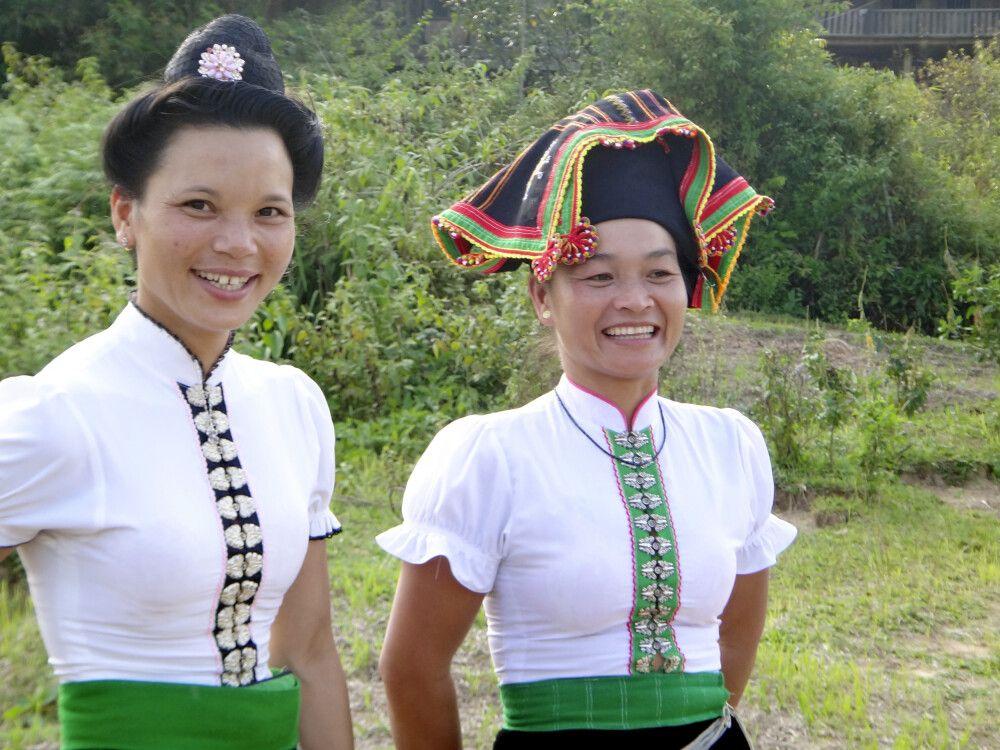 Schwarze Thai in der Nähe von Dien Bien Phu