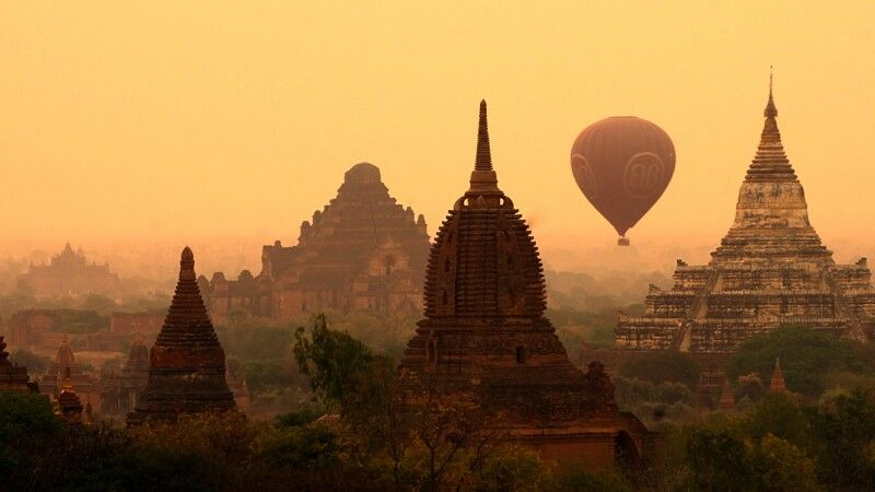 Ballonfahrt über Bagan © Diamir