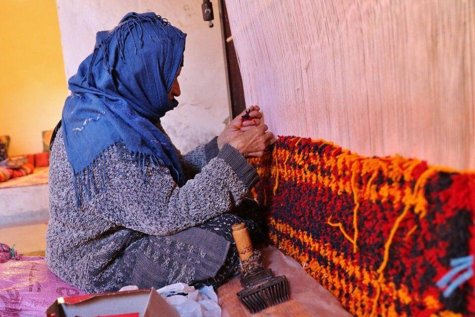 Teppich-Herstellung