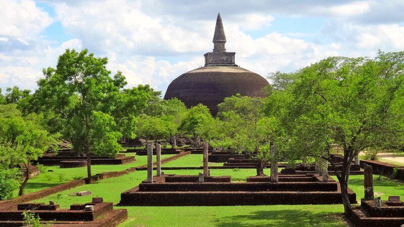 Tempelanlage Polonnaruwa © Diamir
