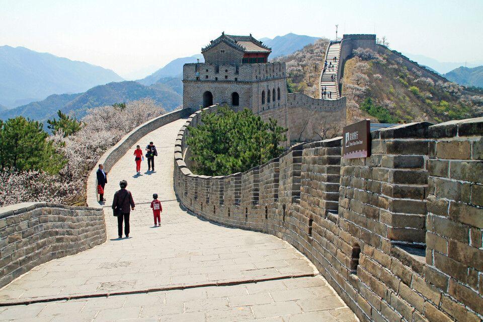 Spaziergang auf der Großen Mauer