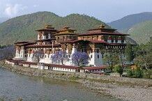 Dzong in Punakha