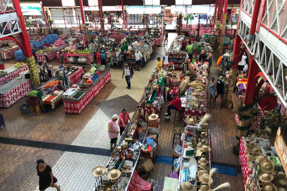 Auf dem Markt in Papeete
