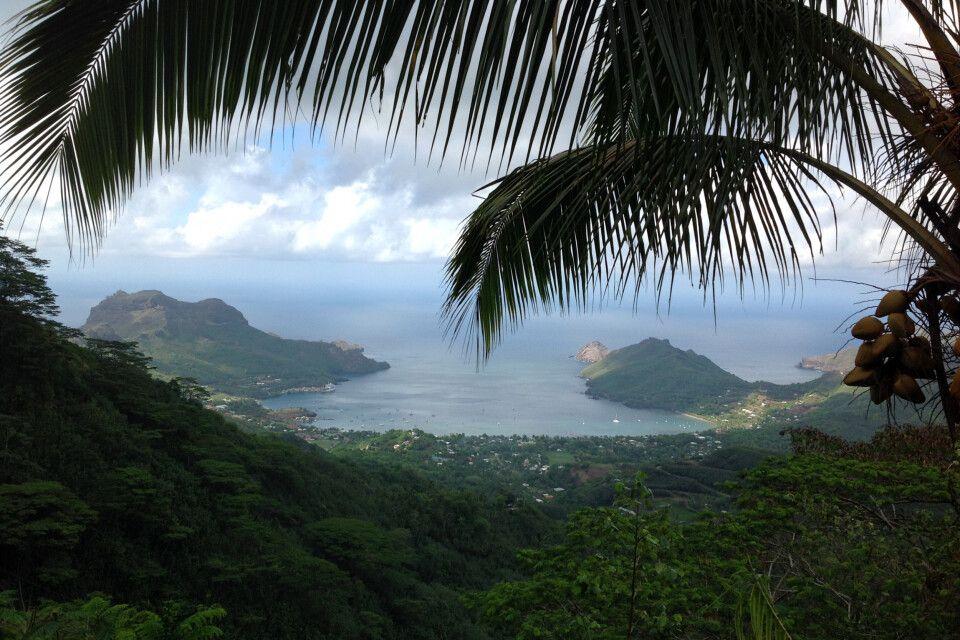 Blick vom Inselinneren