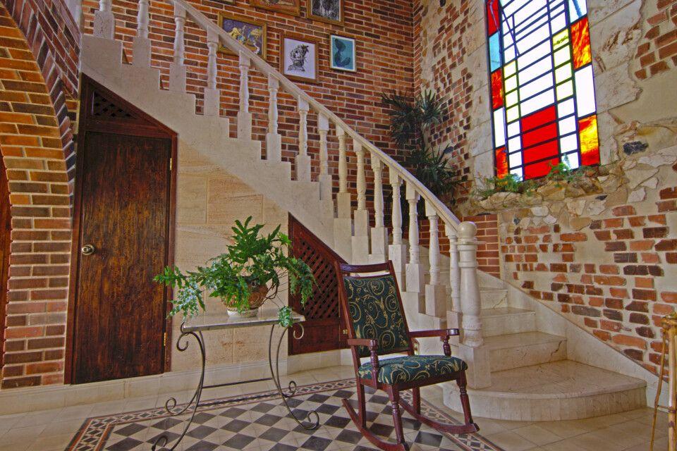 Finca de Astrid – Treppe mit Galerie