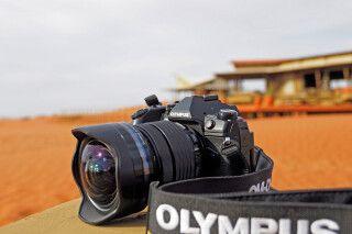Fotografieren mit einer Olympus Digital Camera