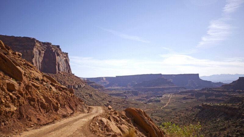 Shafer Trail, Canyonlands-Nationalpark, Utah © Diamir