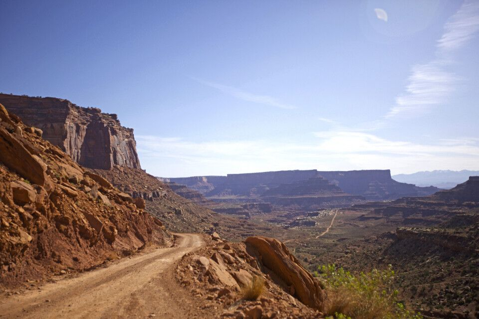Shafer Trail, Canyonlands-Nationalpark, Utah