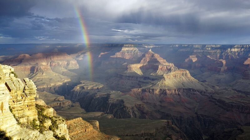 Regenbogen am Grand Canyon, Arizona © Diamir