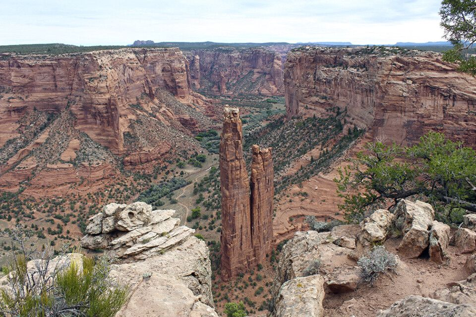 Spider Rock, Canyon de Chelly, Arizona