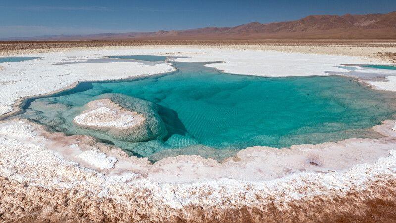 Die Lagunas Escondidas in der Atacama-Wüste  © Diamir