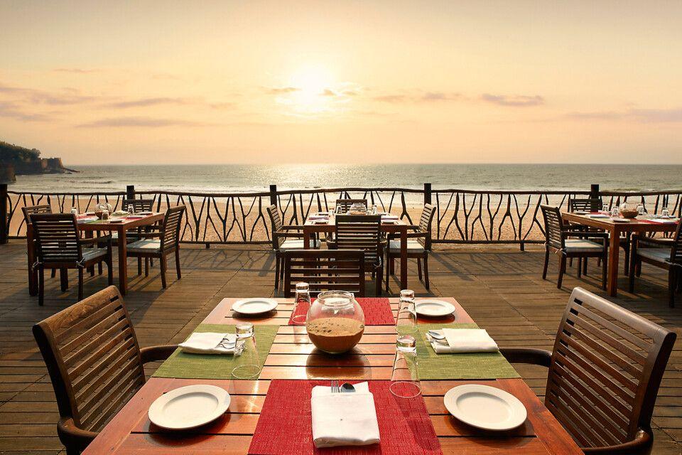Taj Holiday Village Goa am Candolim Strand