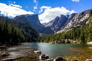 Dream Lake, Rocky-Mountain, Nationalpark, Colorado