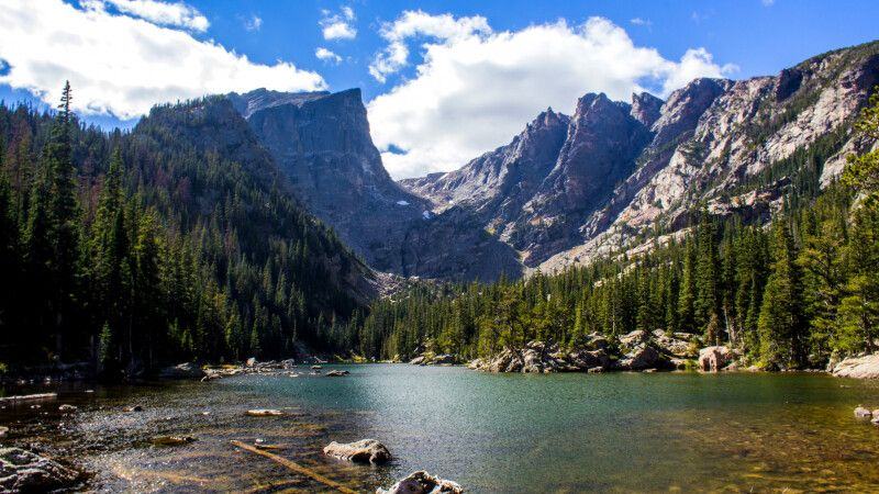 Dream Lake, Rocky-Mountain, Nationalpark, Colorado © Diamir