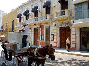 Malerische Kolonialstadt Merida