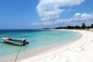 Idylle pur am Traumstrand der Costa Maya auf Yucatan