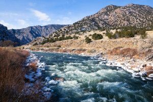 Am Oberlauf des Arkansas River, Colorado