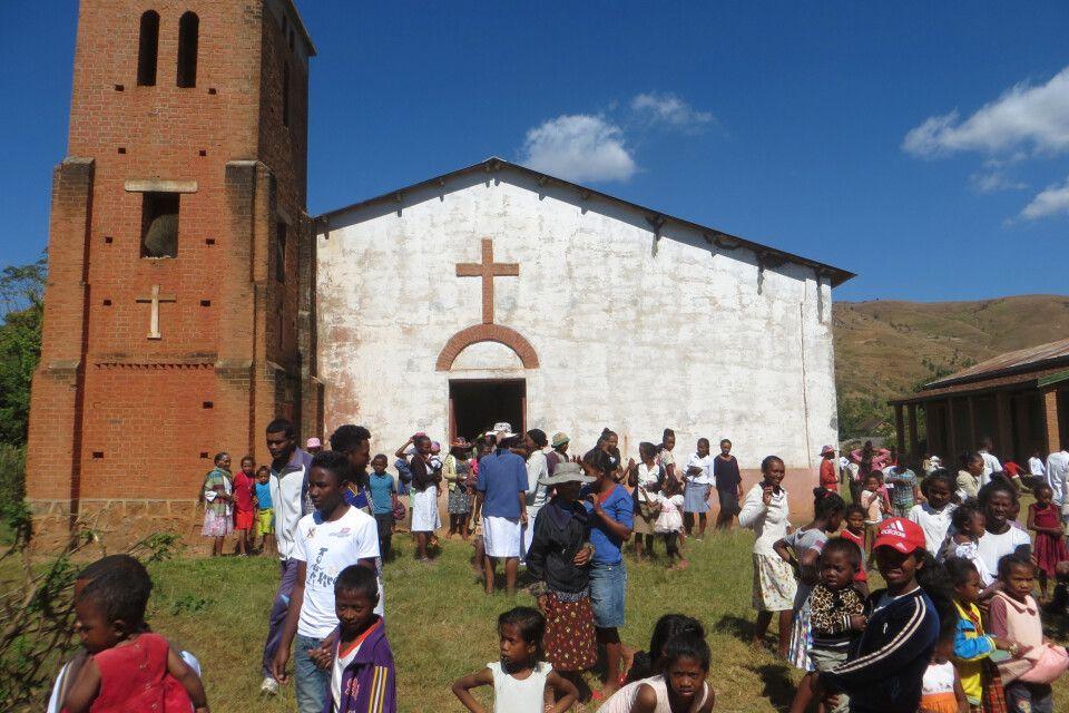 Kirche im Hochland