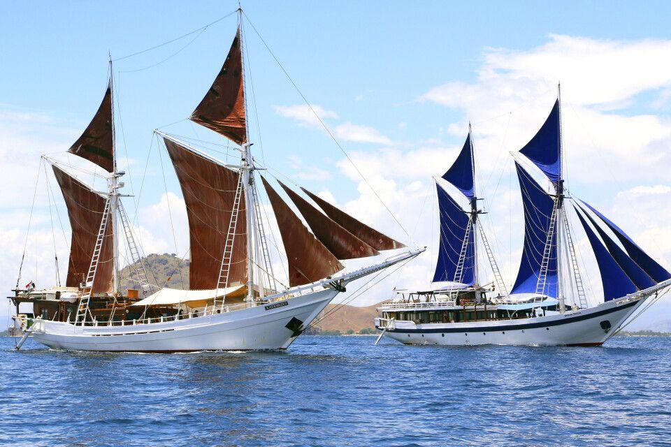 Schwesterschiffe Ombak Putih und Katharina