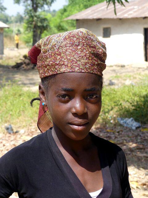 Fulani Mädchen