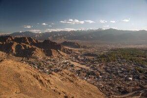 Die Stadt Leh ist das Zentrum Ladakhs.